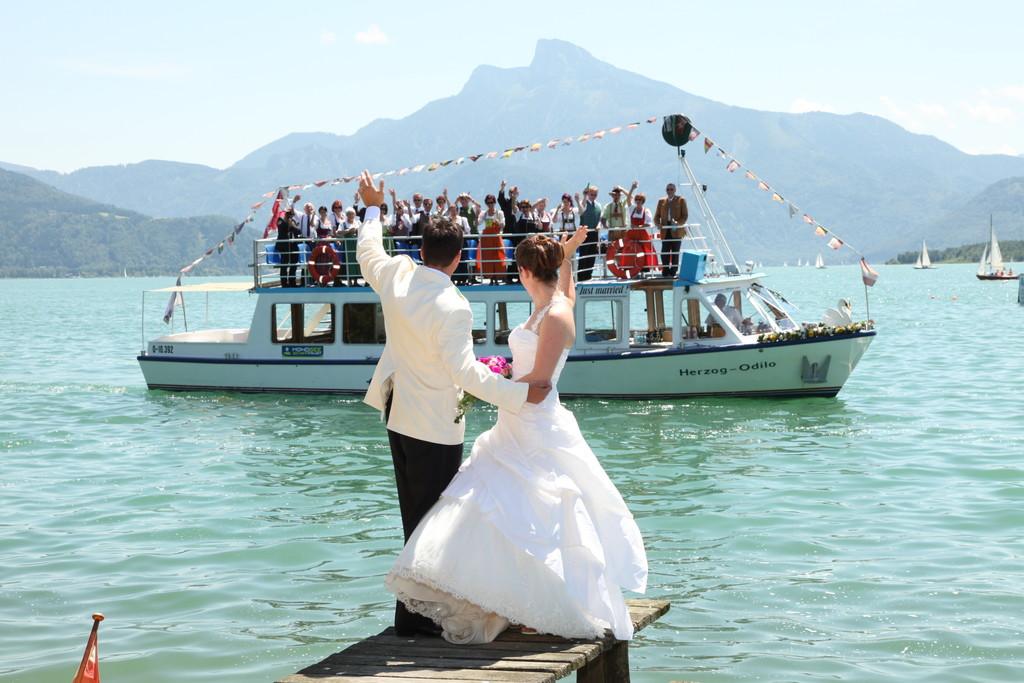 Hochzeiten Mondseeschifffahrt Hemetsberger